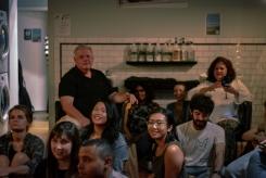 Crowd by Samantha Mae Sweeney for Sofar Sounds Philadelphia, Nic Grooming Barbershop - Philadelphia, PA
