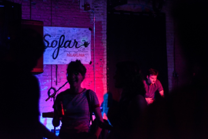 Crowd by Samantha Mae Sweeney for Sofar Sounds Philadelphia - Warehouse On Watts, Philadelphia, PA