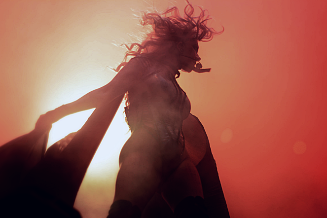 Maria Brink of In This Moment by Samantha Mae Sweeney for Rock On Philly, BB&T Pavilion, Camden, NJ